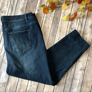 Soft Surroundings Skinny Ankle Jeans High Rise